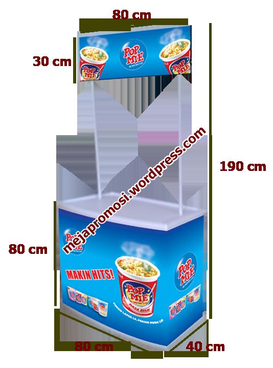 MEJA PROMOSI | Meja Promosi Murah, Meja Booth Portable ...
